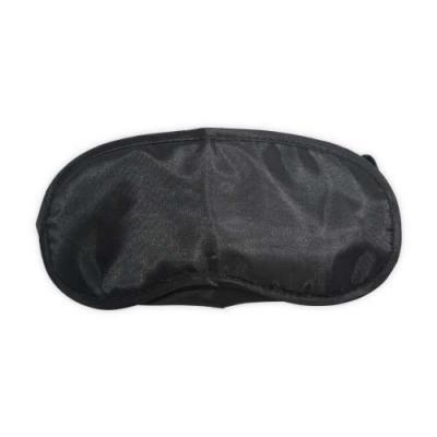 Máscara de olhos para dormir, material de cetim revestido internamente com espuma para um maior conforto. Possui doi elásticos de nylon, acompanha par... - Ewox Promocional