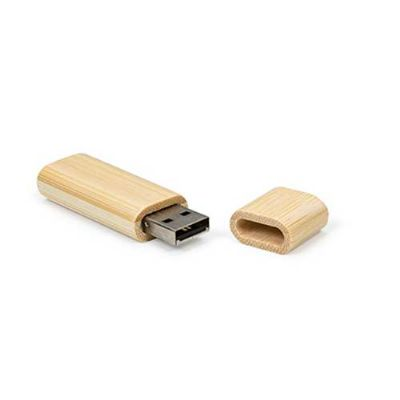 Pen Drive de Bambu 4GB