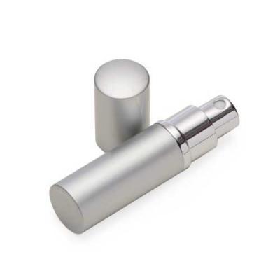 Porta perfume 8ml de metal, frasco(acrílico) pode ser removido do estojo e basta borrifar para fu...