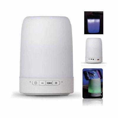 Caixa de Som Multimídia com Porta Caneta e Luminária - Ewox Promocional