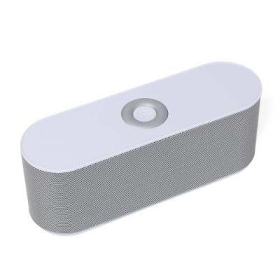 Caixinha de som bluetooth multifunções. Design fino e material plástico resistente, possui: botão...