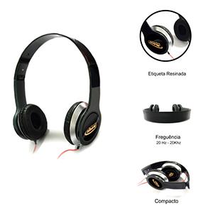 Ewox Promocional - Fone de ouvido estéreo.