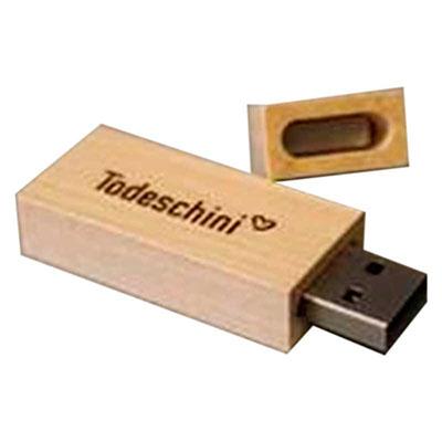 Ewox Promocional - Pen drive de madeira, capacidade de memória de 04gb, 08gb ou 16gb, consultar disponibilidade