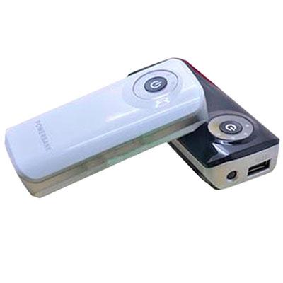 Ewox Promocional - Power Bank com indicador de carga e duas baterias internas.