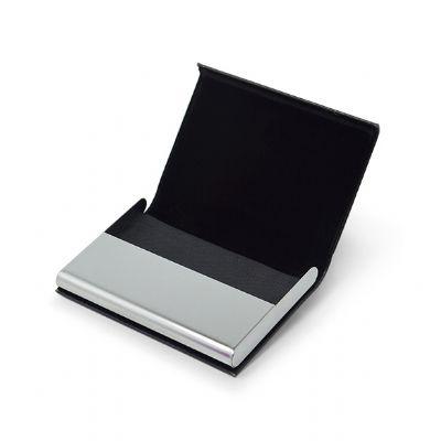 Ewox Promocional - Porta-cartão couro sintético