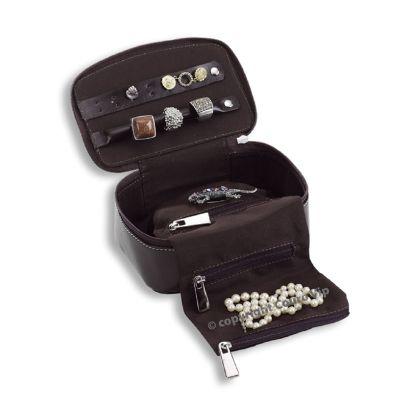 couro-vip - Porta-jóias em couro.
