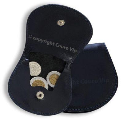 Couro Vip - Porta-níquel em couro.