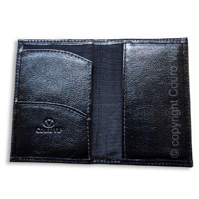 Couro Vip - Porta-passaporte em couro.