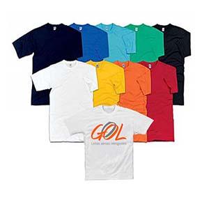 fly-brindes - Camiseta em algodão 30.1 com diversas cores.