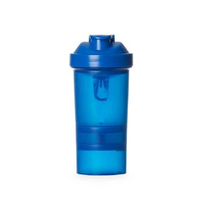 fly-brindes - Coqueteleira 400 ml com porta suplementos
