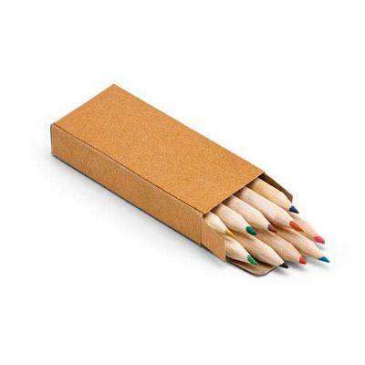 Fly Brindes - Lápis de cor com 10 unidades