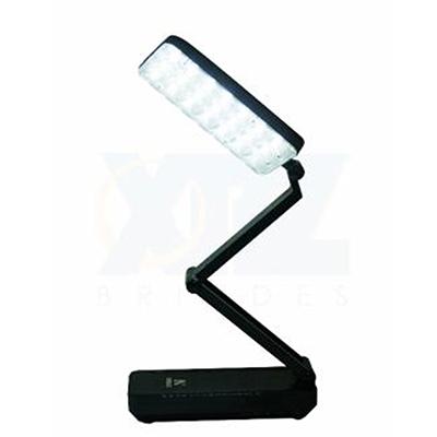 Luminária de mesa com led