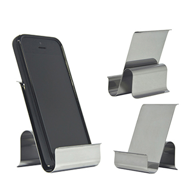 fly-brindes - Porta celular em aço inox.