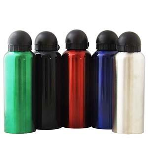 fly-brindes - Squeeze em inox com capacidade de 500 ml.