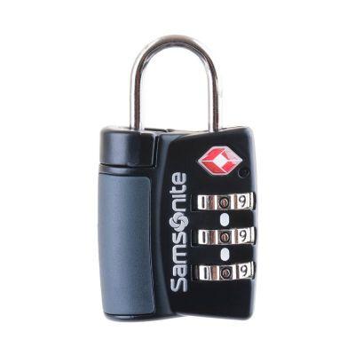 samsonite - Cadeado TSA 3 dígitos preto