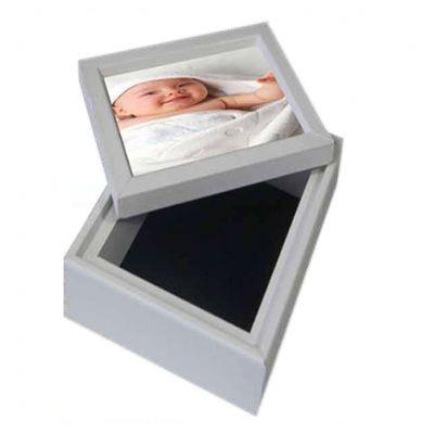 Ideko Brindes - Caixa personalizada com foto.