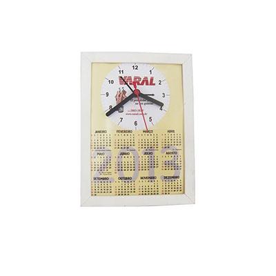 Relógio para mesa e parede Tam. 15x21cm.