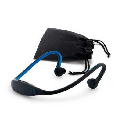 seleta-brindes - Fone de ouvido. ABS e silicone. Com transmissão por bluetooth