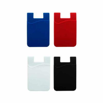 seleta-brindes - Adesivo Porta Cartão de Silicone para Celular