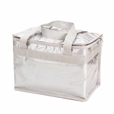 Descrição: Bolsa térmica confeccionada em pvc laminado, capacidade de 13 litros. Contém duas alça...