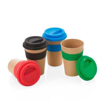 seleta-brindes - Copo Fibra de Bambu 450ml