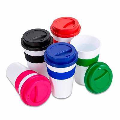 Copo Plástico para café - Seleta Brindes