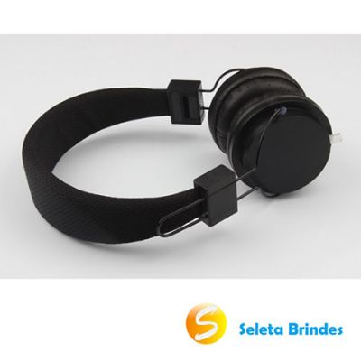 seleta-brindes - Fone de ouvido head fone com microfone