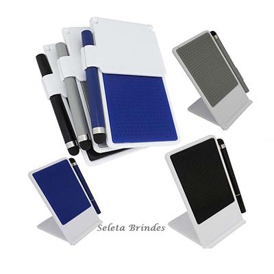 Seleta Brindes - Base para celular e caneta para Tablet.