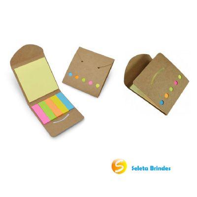 Seleta Brindes - Bloco de anotações ecológico