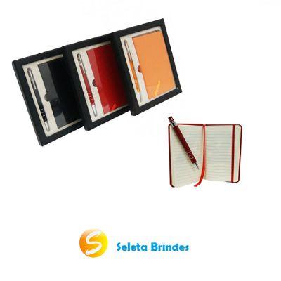 Seleta Brindes - Caderneta tipo Moleskine