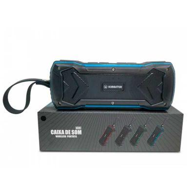 Seleta Brindes - Caixa de som portátil resistente à água Bluetooth