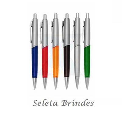 Seleta Brindes - Caneta plástica.