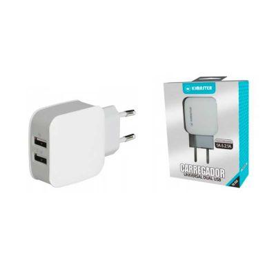 seleta-brindes - Carregador de parede dual USB 2A real