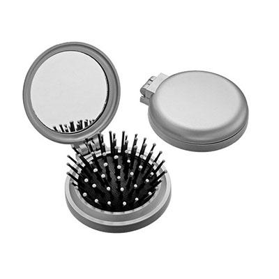 Escova de bolsa com espelho - Seleta Brindes