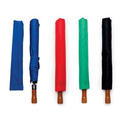 Seleta Brindes - Guarda chuva com cabo de madeira