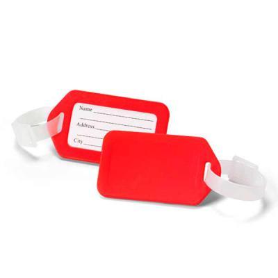 Identificador de bagagem. PP. Ideal para malas de viagem. 87 x 50 x 4 mm - Seleta Brindes