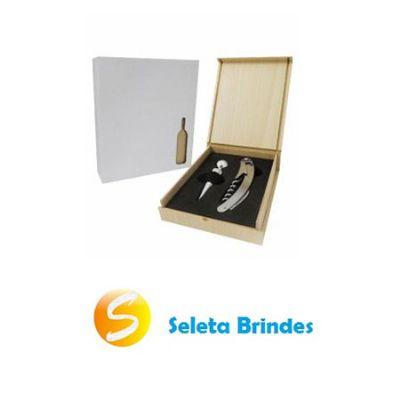 Seleta Brindes - Kit vinho com 2 peças