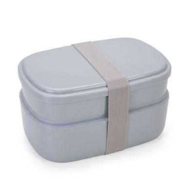 seleta-brindes - Marmita Plástica 2 Compartimentos + Talheres
