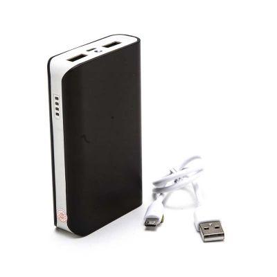 seleta-brindes - Carregador portátil Power Bank c/ 3 baterias- personalizado