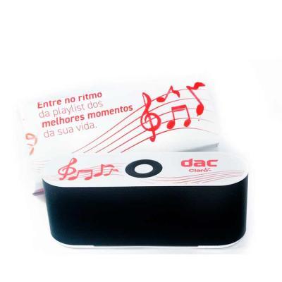 Caixa de Som Multimídia para presente de aniversário. Design fino e material plástico resistente,...