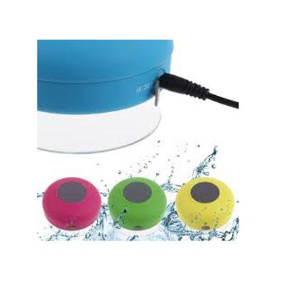 Luxus Comercial - Caixinha de som bluetooth a prova d agua.