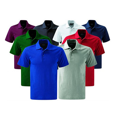 Luxus Comercial - Camisa pólo malha piquet bordada.