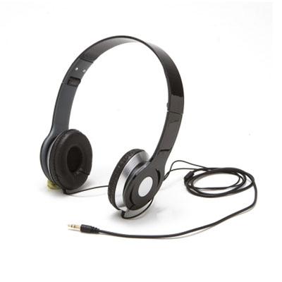 luxus-comercial - Fone de ouvido com haste e altura regulável