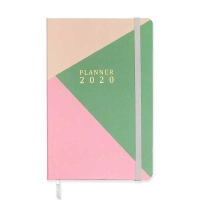 Planner tipo caderneta com revestimento em Couché impresso. Capa personalizável. Tamanho 13x20cm....