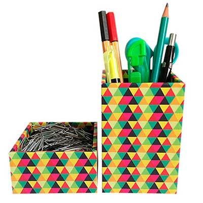 Guio Art - Porta lápis e porta clips
