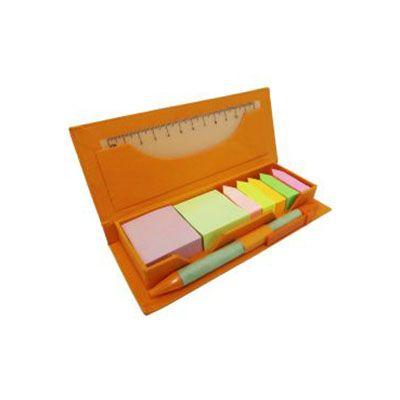 rf-canetas-e-brindes - Blocode anotações ecológico com régua plástica