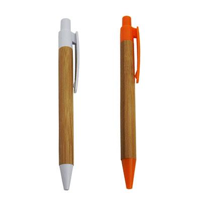 RF Canetas e Brindes - Caneta ecol�gica de bambu, ponteira e acionador de pl�stico. V�rias cores, quantidade m�nima: 300 pe�as