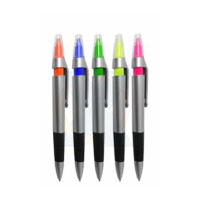 rf-canetas-e-brindes - Caneta marca texto, em diversas cores
