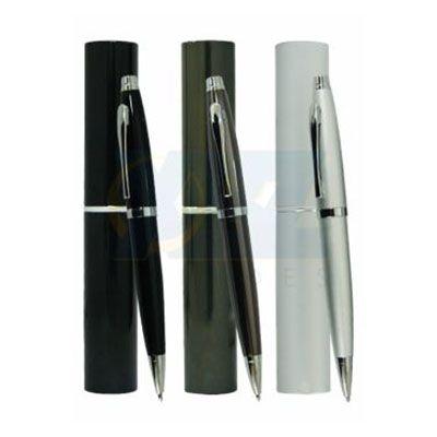 RF Canetas e Brindes - Caneta metálica no tubete de alumínio