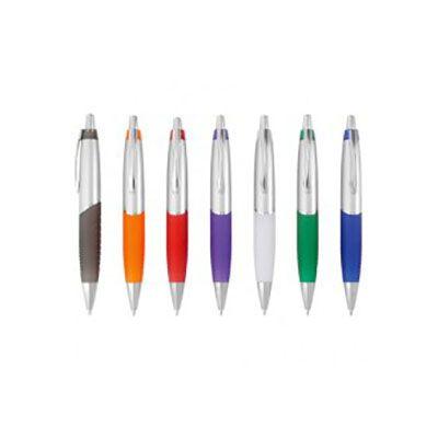 rf-canetas-e-brindes - Caneta plástica esferográfica